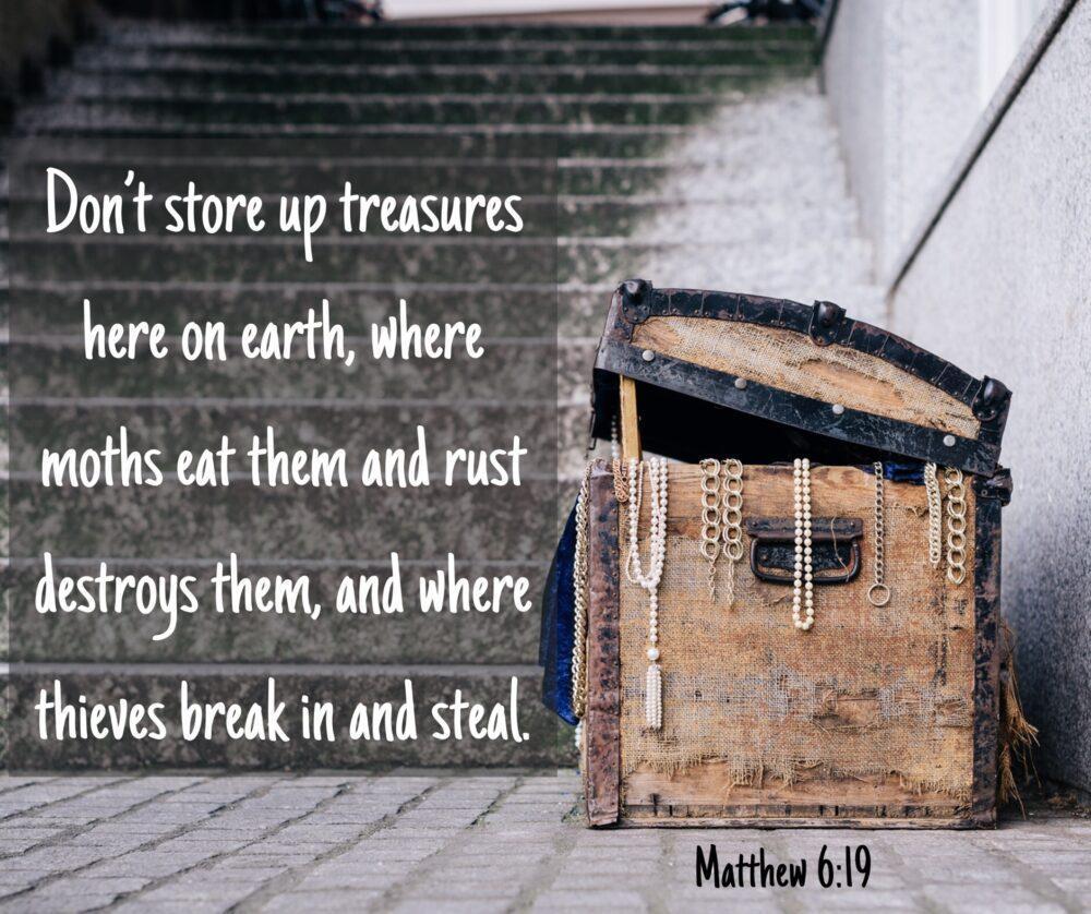 Temporary vs Eternal Treasure