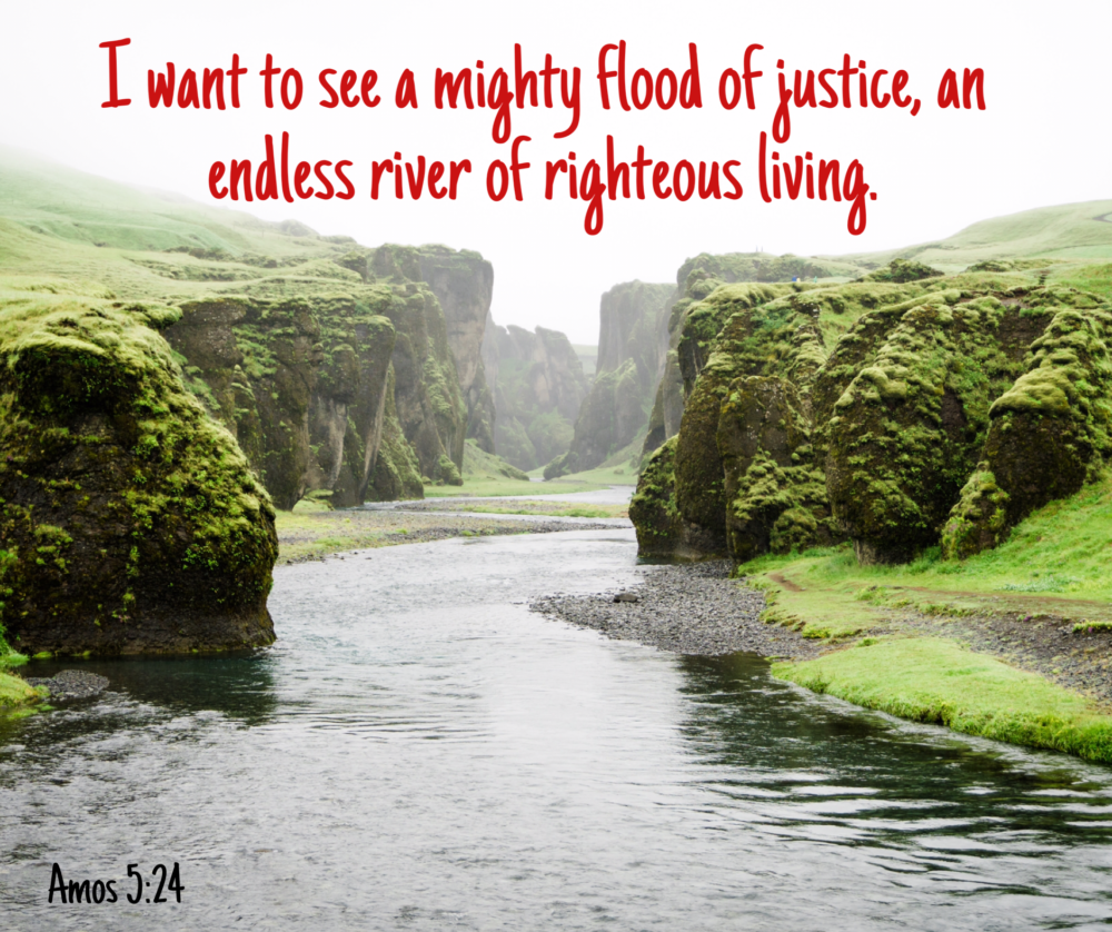 Be just and righteous