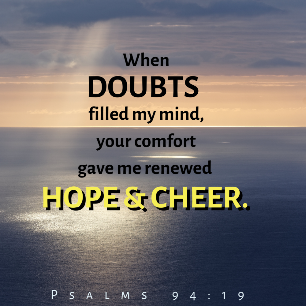 Your doubt is killing you!
