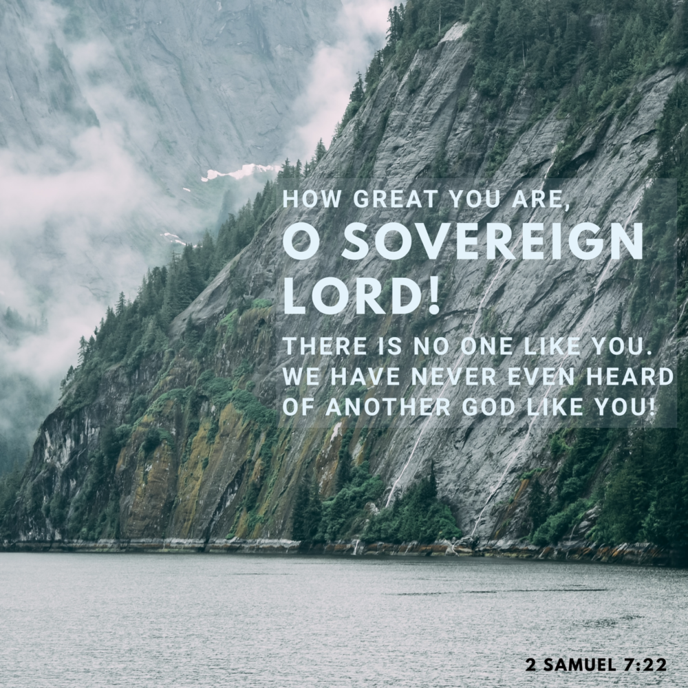 God IS your authority.